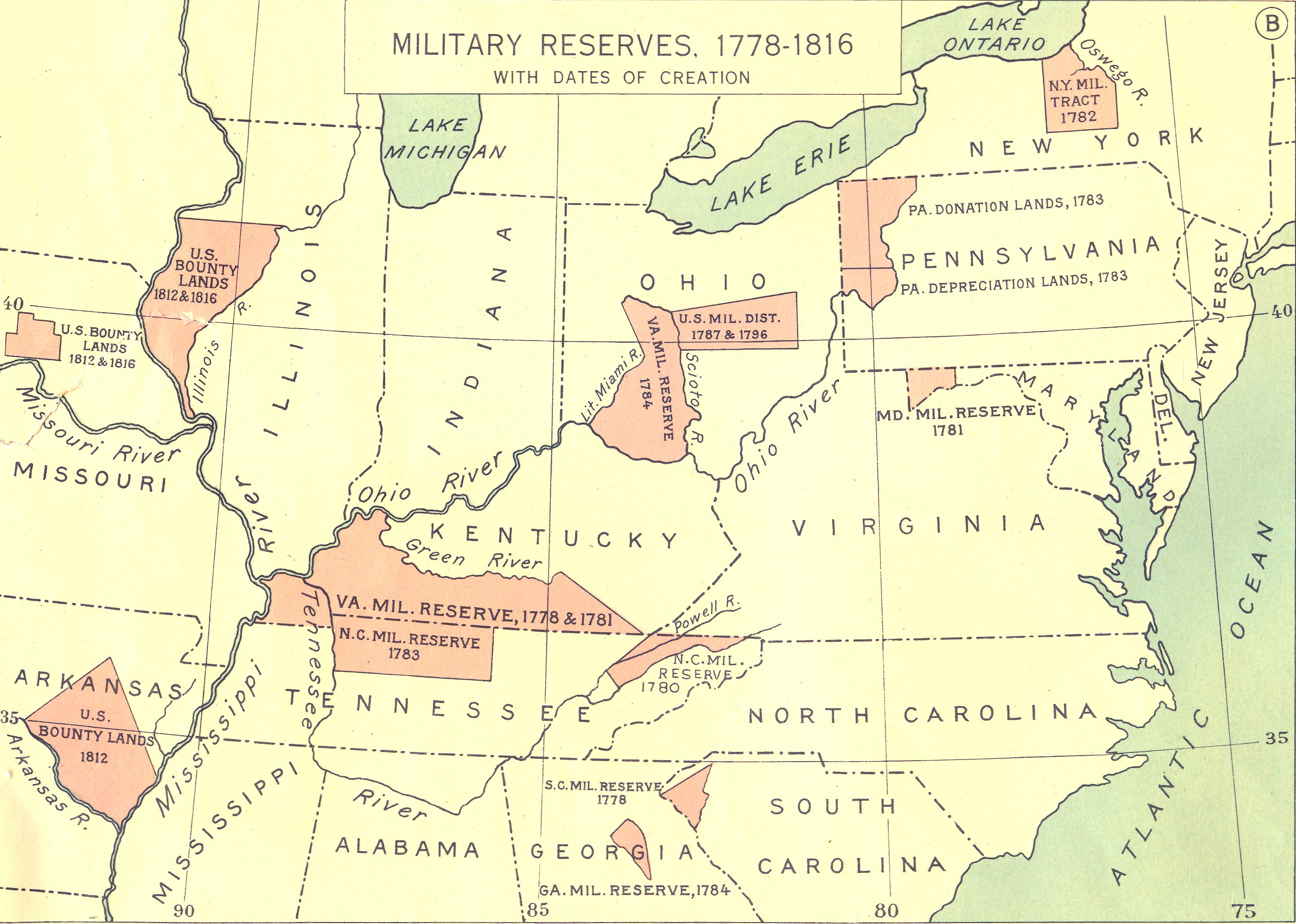 Resources Genealogy Decoded - Map us land acquisitions